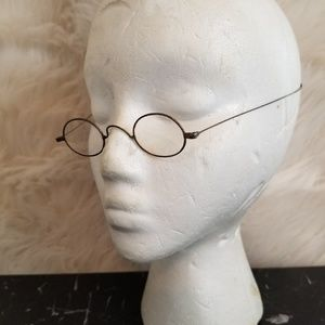 Antique Victorian Era Wire Rimmed Glasses